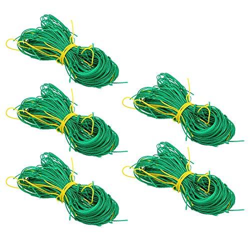 Plant Climbing Net, High‑Density Nylon High‑Quality Garden Plant Trellis, High Strength for Peas Cucumbers