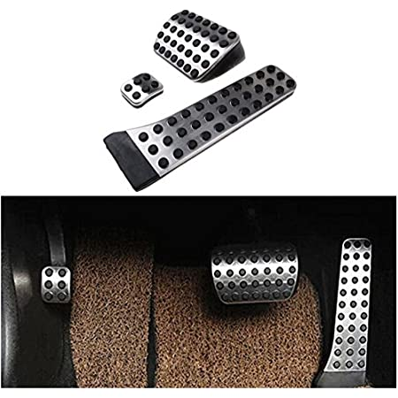 for Mercedes Benz C E S GLK SLK CLS SL-Class W203 W204 W211 W212 W210 Stainless Steel Car Pedals Accelerator Brake Footrest Pad