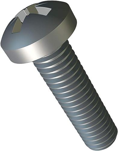 M3 x 35 mm Petite Vis à Tête Cylindrique Cruciforme Lot de 25pc ISO 7045 DIN 7985 Phillips Acier Zingué vis Tete Cruc...