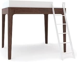 Oeuf Perch Full Loft Bed - White/Walnut