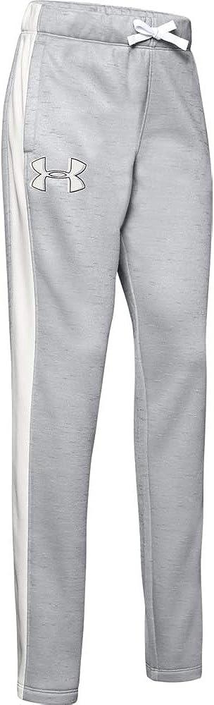 Under Armour Girls' Fleece Pant Yo Gray Mod Onyx White Super New life sale