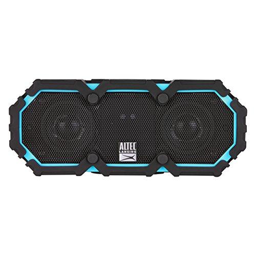 Altec Lansing iMW477 Mini Life Jacket Bluetooth Speaker Waterproof Wireless Bluetooth Speake,Hands-Free Extended Battery Outdoor Speaker,Ultra-Portable 10ft Range,Blue/Black, 2.37 x 2.50 x 6.50 inches
