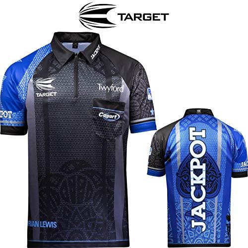 Target Darts Coolplay Adrian 'Jackpot' Lewis 2019 Pro Darts Shirt XXL