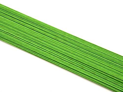 Pati-Versand 12268 Lot de 100 Fils, Métal, Vert, 43 x 1 x 1 cm