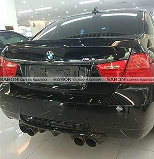 Auto Car Styling E92 M3 Rear Lip HM Style Carbon Fiber Rear Bumper Diffuser Lip for BMW E92 M3 2009-13