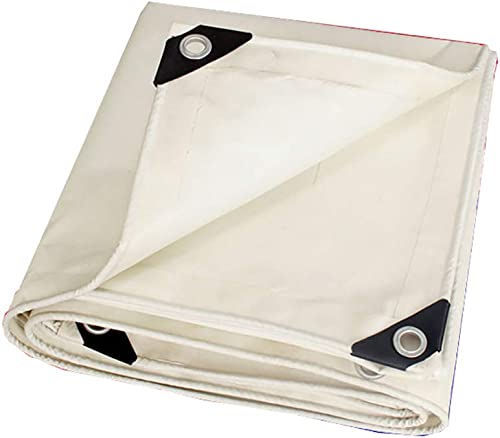 MSNDIAN Poncho Blanc épais bache de Prougeection Solaire bache de Prougeection de Tricycle Camion bache de Prougeection de Tissu Articles de Sport de Plein air