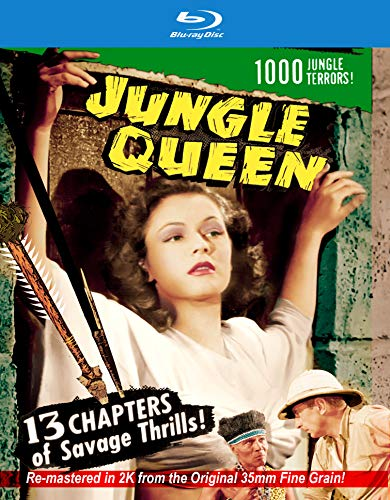 Jungle Queen: 2k Restored Special Edition [Blu-ray]