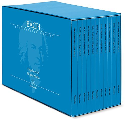 Bach: The Complete Organ Works Complete Works Music Book
