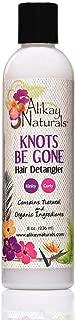 Alikay Naturals Knots Be Gone Hair Detangler Natural Aloe Vera, Hibiscus Flower 16 Ounce
