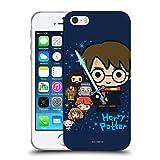 Head Case Designs Licenciado Oficialmente Harry Potter Personajes Deathly Hallows I Carcasa de Gel de Silicona Compatible con Apple iPhone 5 / iPhone 5s / iPhone SE 2016