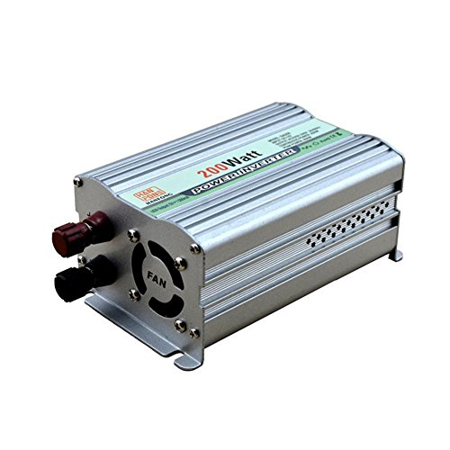 BQ Convertisseur @ 200W Power Inverter DC 12V à prise secteur 220V Convertisseur Alimentation avec adaptateur allume-cigare