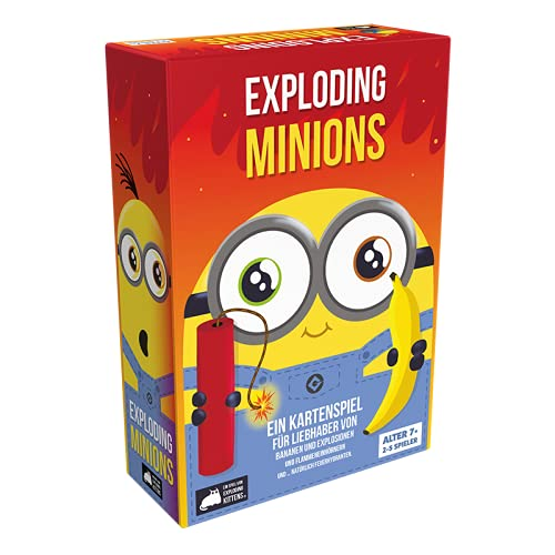 Asmodee Exploding Minions, Grundspiel, Partyspiel,...