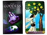 UYIDE 78 Cartas De La Diosa del Tarot, Cartas De Adivinación para Principiantes, Mejores Regalos para Familiares Y Amigos (Versión En Inglés)
