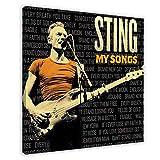 Sting(Gordon Sumner)'s Album-Cover – My Songs