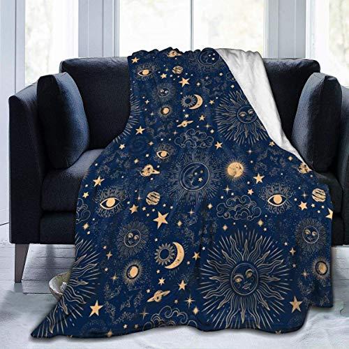 juli ruimte Galaxy sterrenbeeld ultra zacht flanel fleece alle seizoen licht gewicht woonkamer warm deken-OMQ-Z9D