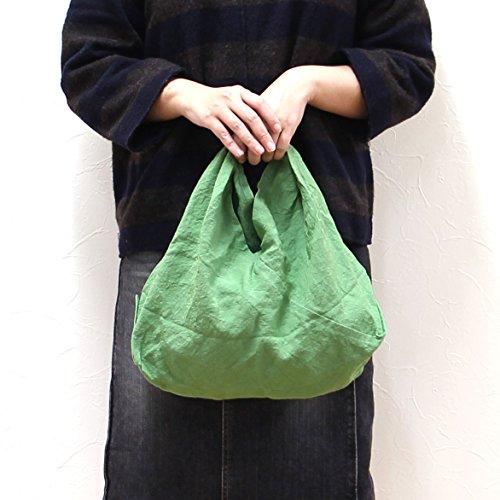 松野屋 天日干リネンふろしきバッグ