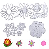 Fustelle per fiori per fabbricazione di cartoncini Fustelle per taglio Goffratura Fustelle per metallo per la lavorazione in acciaio al carbonio Stampo Modello per stencil fai-da-te per scrapbooking
