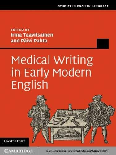 Medical Writing in Early Modern English (Studies in English Language) (English Edition)