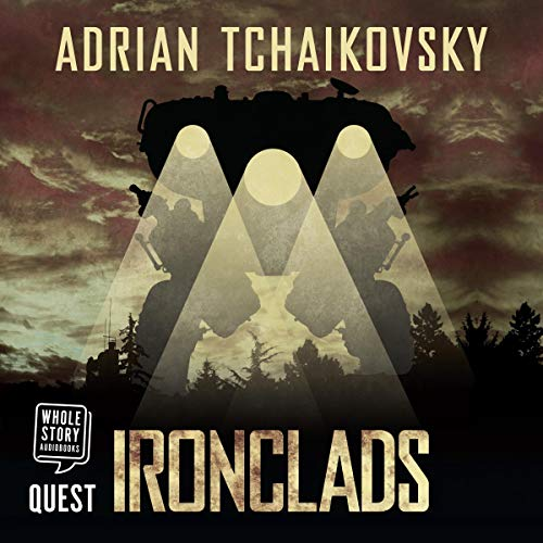 Ironclads audiobook cover art