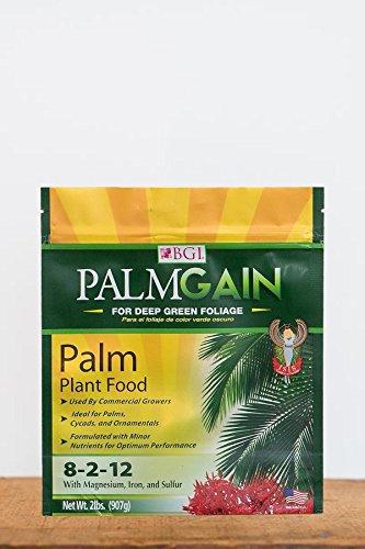 PALMGAIN for Deep Green Foliage Palm Plant Food