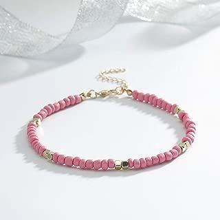 Best ankle bracelet pink Reviews