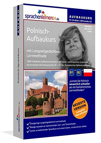 Sprachenlernen24.de Polnisch-Aufbau-Sprachkurs: Lernsoftware auf CD-ROM für Windows/Linux/Mac OS X + Audio-Vokabeltrainer auf MP3-Audio-CD für Ihren Computer / MP3-Player / MP3-fähigen CD-Player