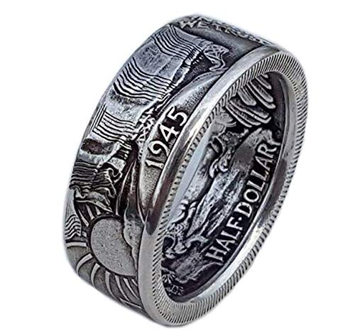 Coin Morgan 1945 Ring, Mode-Match (Silver)