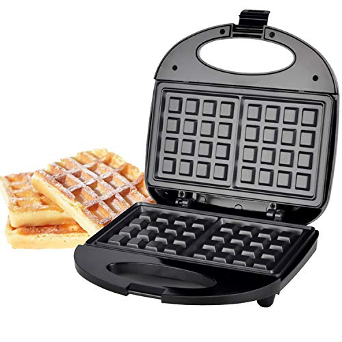 Fantastic Deal! Waffle Maker, Easy Clean Non-Stick Coated Plates & Automatic Temperature Control, Co...