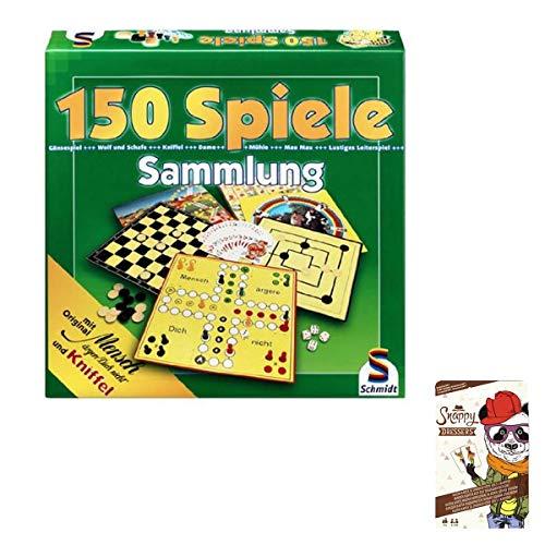 SPAR-SET 176451 - Schmidt - Spielesammlung mit 150 Spielen