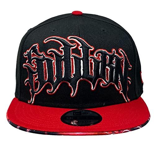 Sullen Men's Swarbrick Electric 9Fifty New Era Snapback Hat Black