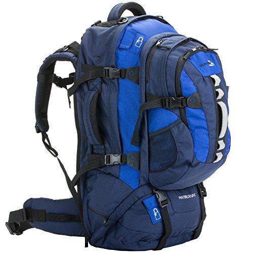 skandika Waterloo 65+15 Liter Rucksack mit abnehmbarem Daypack und integrierter...