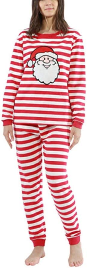 SETSCZY Family Matching Christmas pjs Pyjama Sets Xmas Nightwear Sleepwear Family Wear for Man Women Girl Boy Baby,Mens,XL