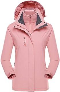 Womens Lightweight Sportswear Hiking Water Resistant Jacket Hooded Raincoats Outerwear