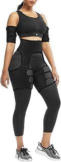 4-in-1 Waist Arm and Thigh Trimmer for Women Weight Loss Butt Lifter Waist Trainer Belt Hip Raise Shaper for Women Thigh Trimmers