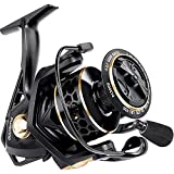 PLUSINNO Fishing Reel, 9 +1BB Spinning Reel, Ultra Smooth Powerful, Lightweight Graphite Frame, CNC Aluminum Spool for Freshwater