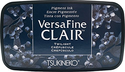 Tsukineko Twilight Versafine Clair Tinte Pad, synthetische Material, blau, 5,6 x 9,7 x 2,3 cm, 5.6 x 9.7 x 2.3 cm