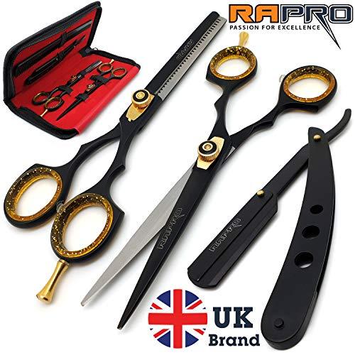 RAPRO RP-SS-01 - Tijeras profesionales para peluquería incluye tijeras de...