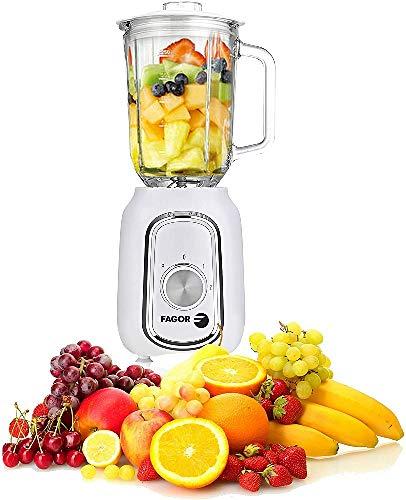 Fagor Frullatore a Bicchiere Fg2140 Eccomix 500 W 1,5 L, Bianco, 4 + 64 GB