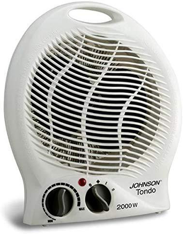 Palucart Termoventilatore da bagno basso consumo 1000-2000 w doppia funzione Caldo e Freddo Scaldino elettrico Ventilatore ventola indipendente