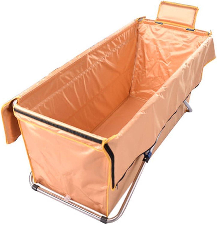 BJYG Faltbadewanne Erwachsenenbadewanne Badefsser verlngert verdicken Badisolierung warme Badewanne (Farbe  D)