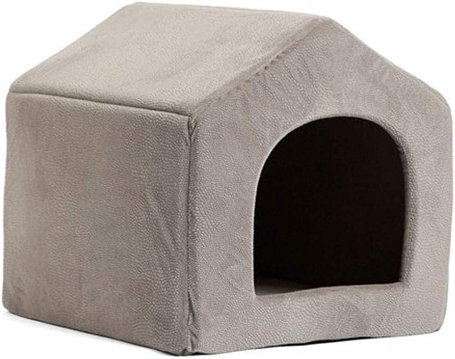 Petville LKR Pet Products Luxury Dog House Cozy Dog Bed Puppy Kennel 5 Color Pet Letto Letto Letto Letto Letto Letto Letto Gatto Mats Pet Negozio G ,L