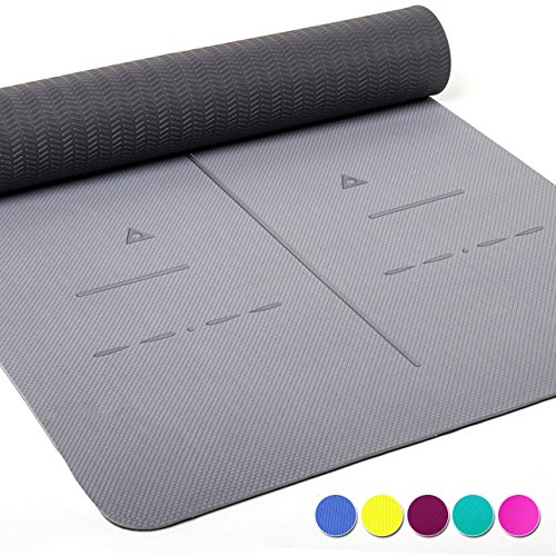 Heathyoga Eco Friendly Non Slip Yoga Mat, Body...