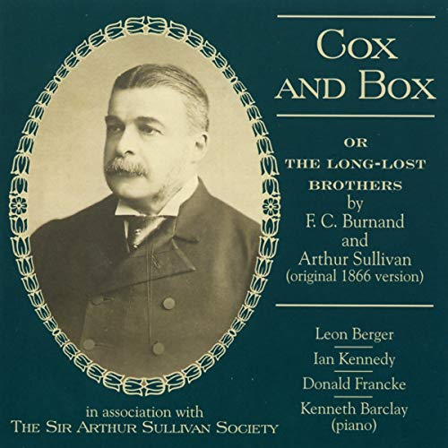 Cox and Box-Original 1866 Ve
