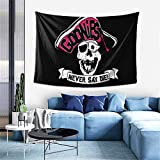 Lawenp Manta Decorativa Goonies Never Say Die Wall Decoration Tapestry Exclusive Wall Hanging Multi Purpose 60x40 Inches Horizontal Wall Backdrop Blankets for Living Room Bedroom .One Size