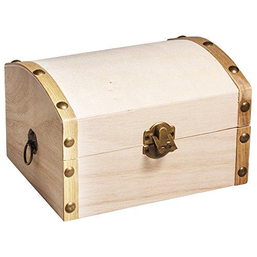Rayher 62609000cassapanca in legno, FSC Mix Credit, 13,5x 10x 8cm