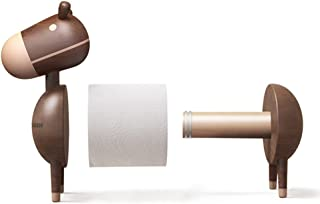 QWH Kitchen Bathroom Toilet Roll Holder Door-Adjustable Roll in Wood Storer Home Office Lounge Restaurant Booth, 230 * 250Mm