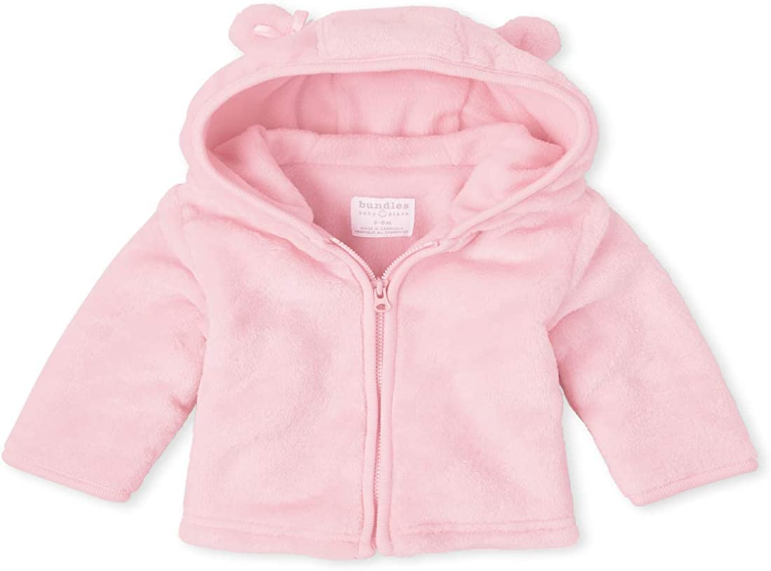 The Children's Place Baby Girls' Bear Faux Fur Cozy Jacket