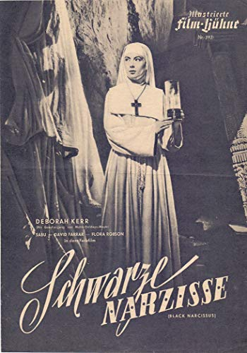 Schwarze Narzisse - Deborah Kerr - IFB Filmprogramm 397 ungelocht