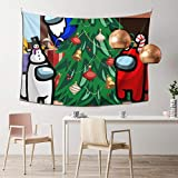 Amo-Ng U-S - Tapiz decorativo para colgar para adultos y niños, para decoración del hogar, dormitorio, sala de estar, oficina, tapiz decorativo de 152 x 106 cm