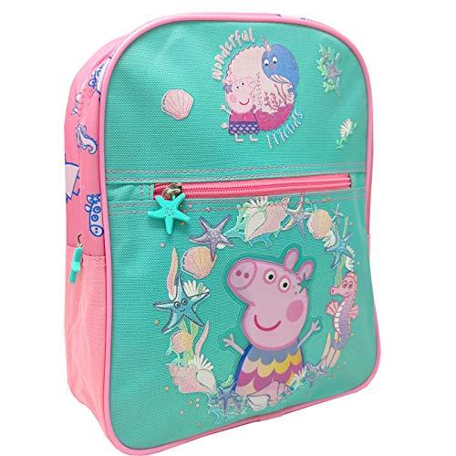 Mochila Infantil Escolar Mochila Peppa Pig Mar Mochila Niña 29cm